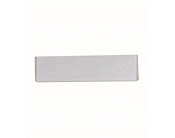 Silver Badge 20X75mm With Pin