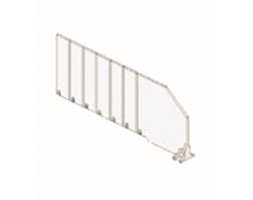 Breakable Shelf Divider 120mm