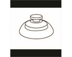 Extra Strong Suction Cup 35mm