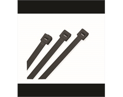 Cable Ties Black 100mm