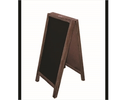 Wooden Double Side Blackboard