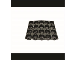 Fruit Tray Liner 30 Pocket Black