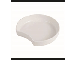 Dish Crescent 300x278x61mm White T5630