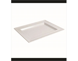 Dover Rect Small Tray White 310x250x30mm
