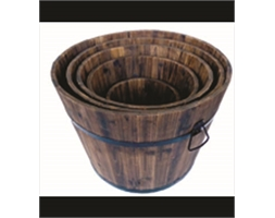 Wooden Barrel Extra Large 390 x 500 x 390