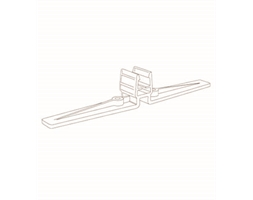 Clear Plastic Frame Stand
