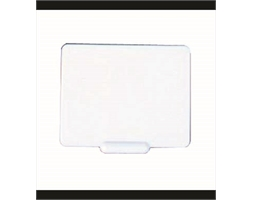 White Ticket 50X65mm