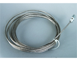 3mm Cable with Bulb fitting - 4m L