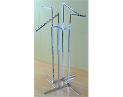 Display Rack 4 Way 2 Straight