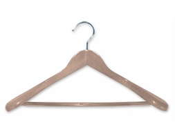 Deluxe Natural Timber Suit Hanger Per Pk 50