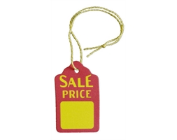 Paper Tag 29 x 45mm SALE Per Pk 250