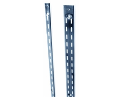 2400mm Dble Slot Strip 25mm Chrome