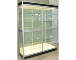 Showcase 2.2m H x 1.8m W & Mirror P.O.A. INC DELIV