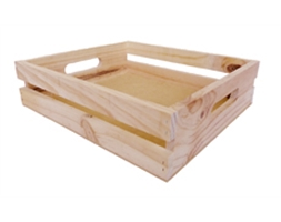 Natural Pine Crate Small
